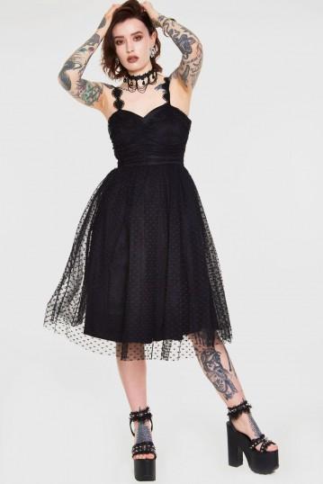 Carrie Dark Heart Prom Dress PL