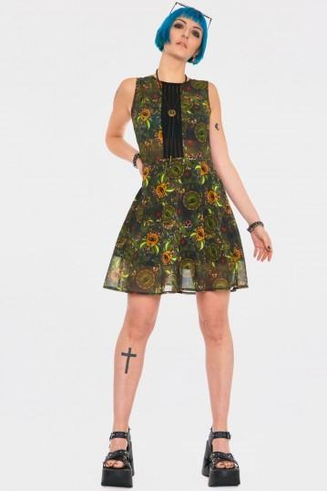 Dark Mystic Mini Dress