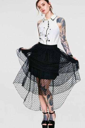 Heartcore High Low Skirt
