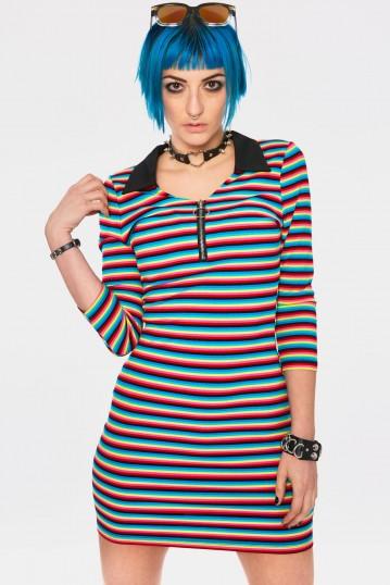 LCD Stripe Dress