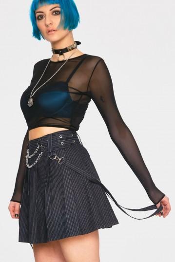 Manson Pin Stripe Skirt