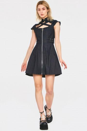 Manson Pinstripe Dress