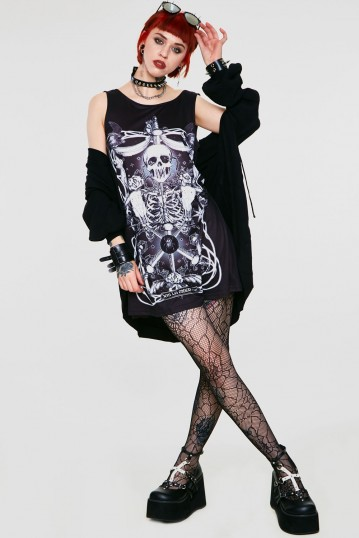 Muerte Tarot Dress