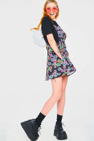 Poison Ivy Pinafore Dress