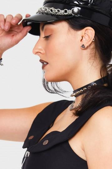Ramhead Studded Earrings