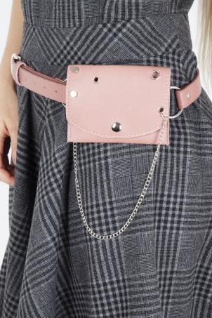 Hands Free Belt in Pink