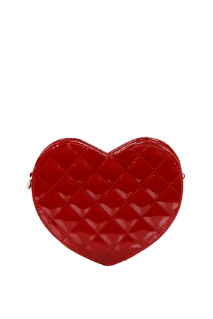 Dark Heart Red Bag