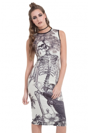 Light n Morbid Bodycon Dress