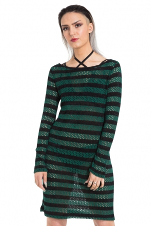Forest Stripes Dress