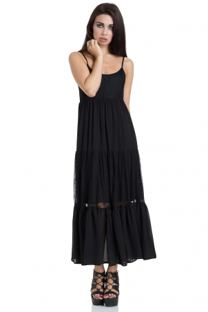 Formal Lace Maxi Dress
