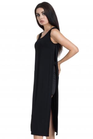 Jersey Side Detail Dress