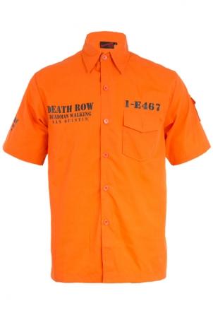 Death Row Orange Shirt