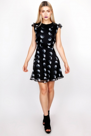 Tidal Moon Phase Dress