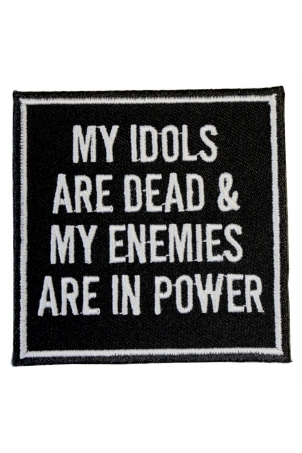 My Idols and My Enemies Patch