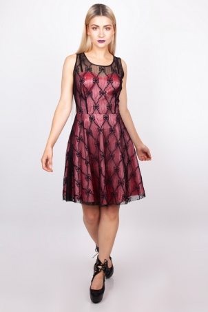 Fire Edge Lace Dress