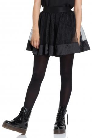 Mesh Mini Skirt