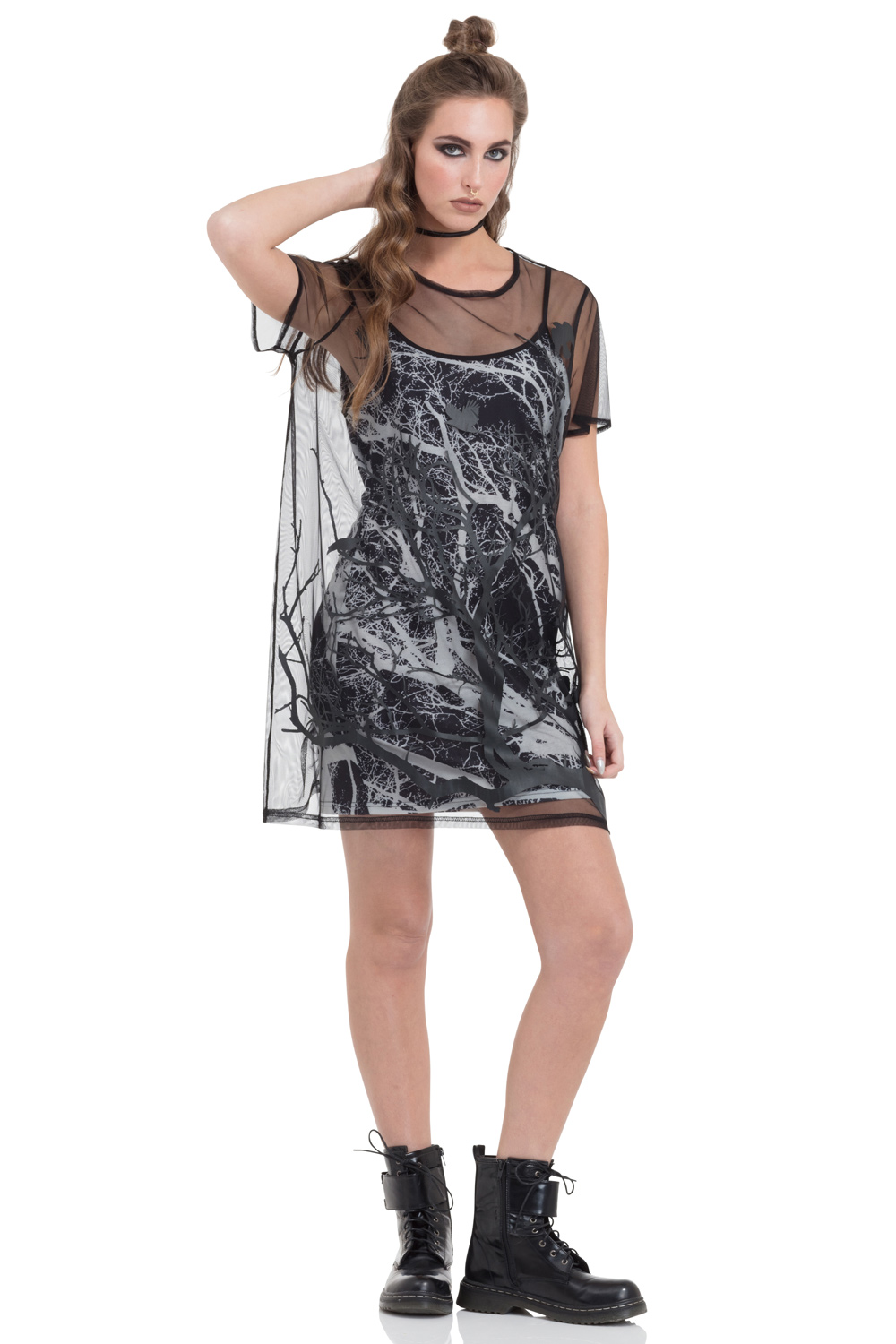 Branch & Crow Double Layered Dress