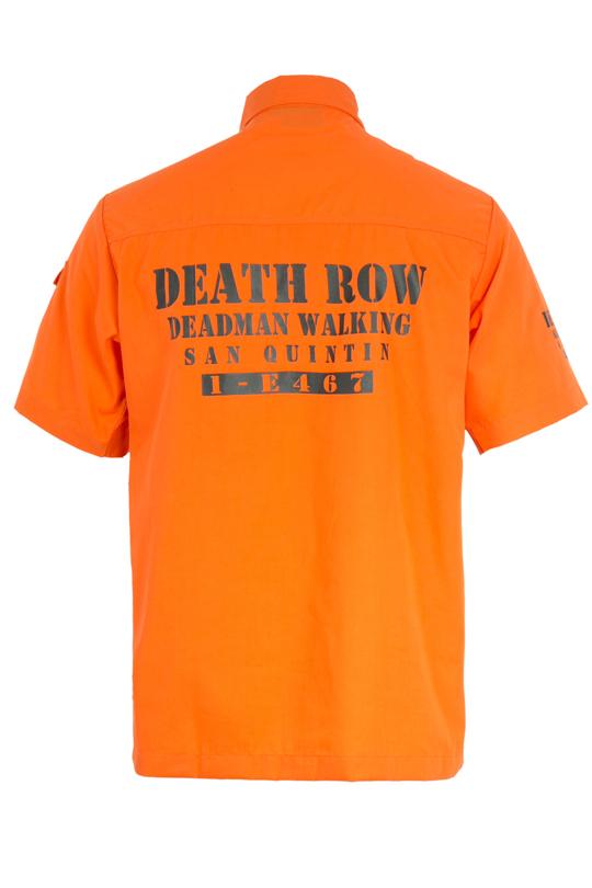 Death Row Orange Shirt